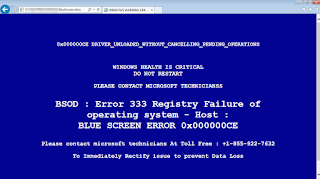 Blue Screen Of Death | Bocahweb.com
