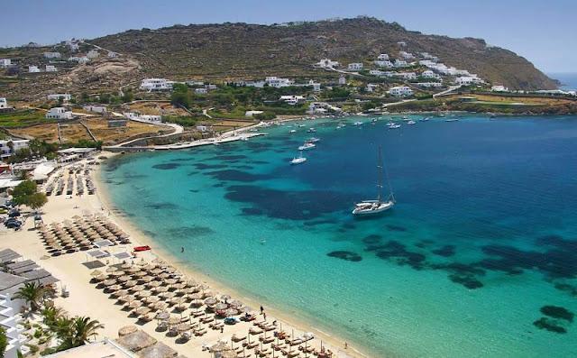 Praia Kalo Livadi, Mykonos