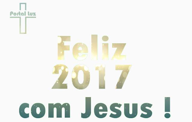 Feliz 2017 com Jesus!