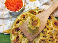 Λαζάνια κολοκύθας σε ρολάκια με σάλτσα κρασιού - by https://syntages-faghtwn.blogspot.gr