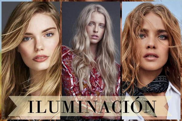 cabello iluminacion 2017