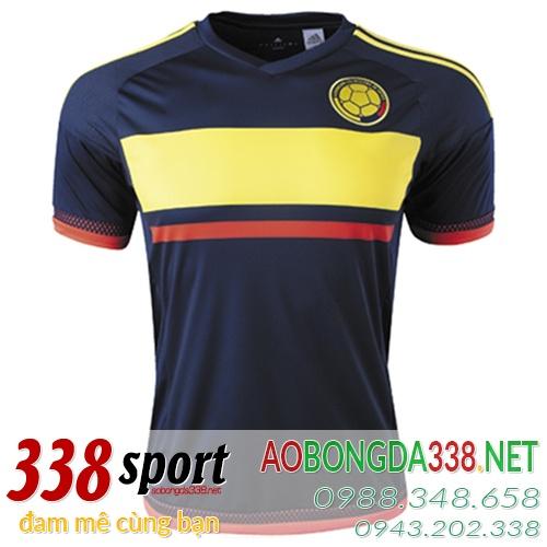 áo đội tuyển colombia sân khách 2016