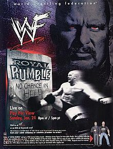 WWE / WWF Royal Rumble 1999 - Event poster
