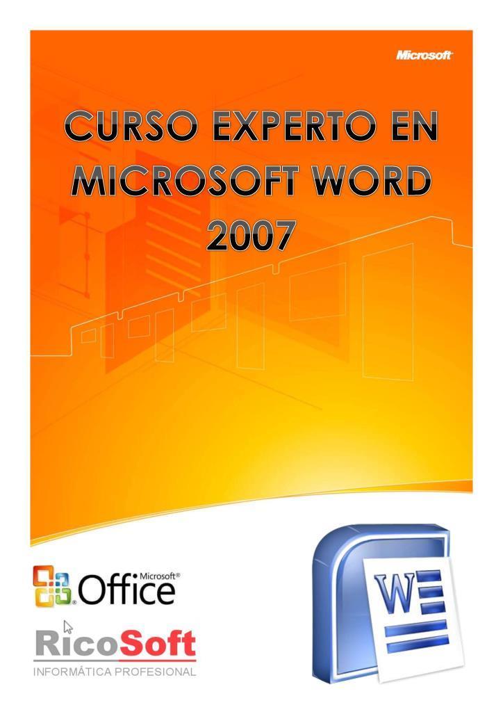 Curso Experto en Microsoft Word 2007 – AulaClic
