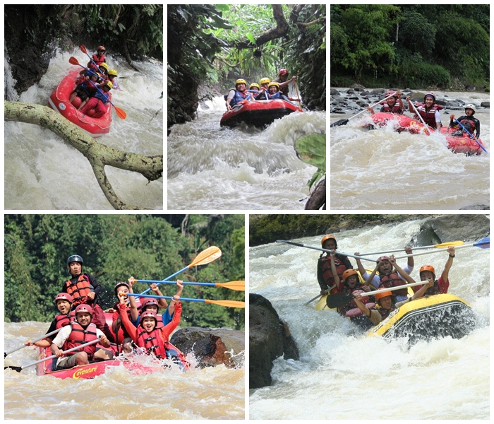 Paket Rafting di Bogor