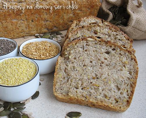 Wieloziarnisty chleb orkiszowy z superfood