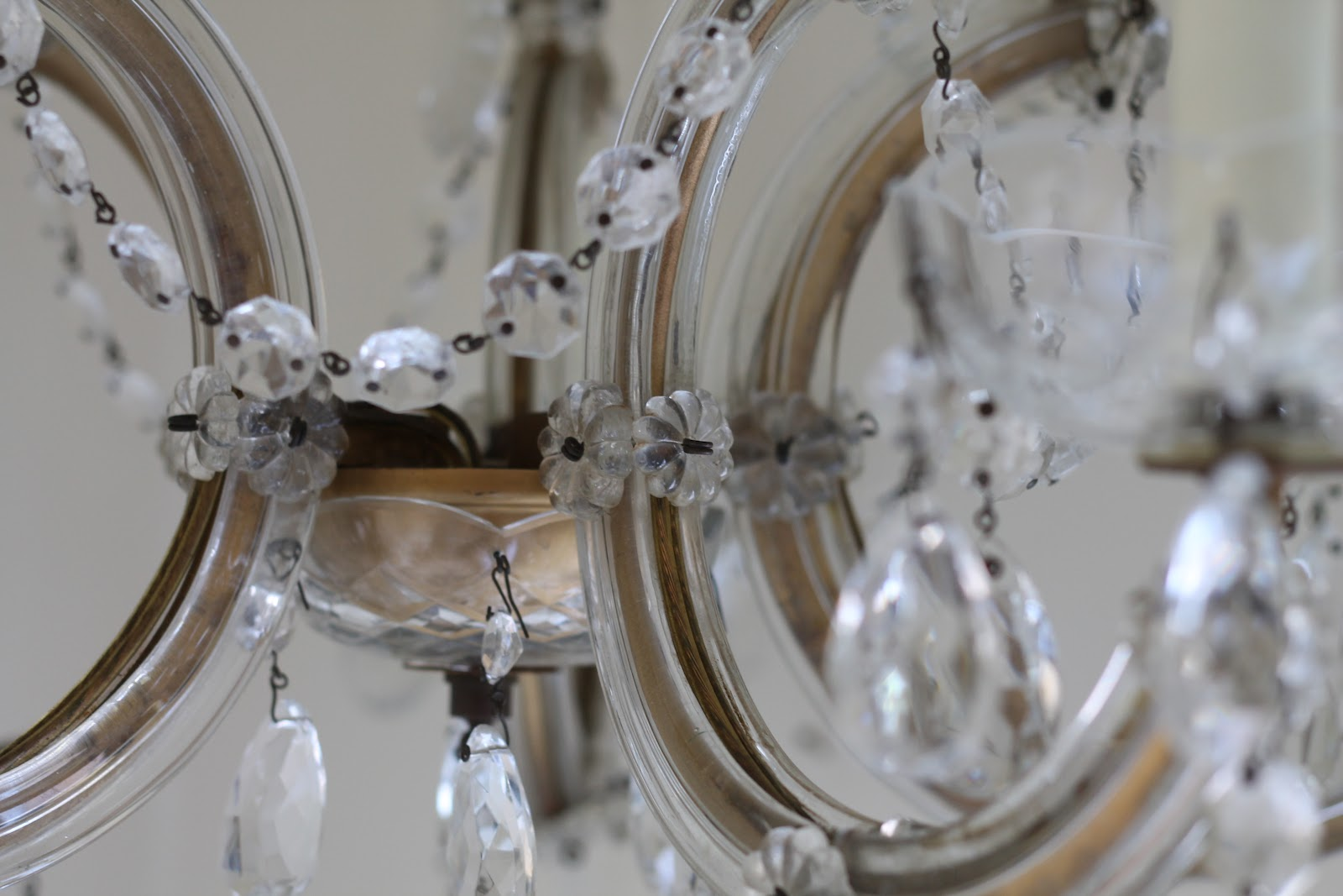 Crystal Chandelier Bedroom