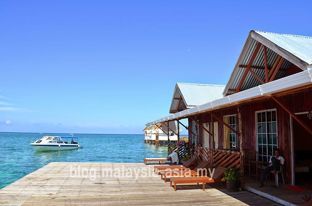 Seahorse Sipadan Scuba Lodge Mabul Island