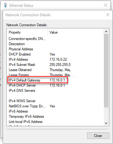 cannot access my router configuration page