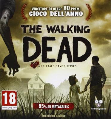 The Walking Dead (TellTale Games) cover italiana
