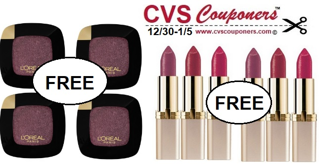 http://www.cvscouponers.com/2019/01/cvs-free-money-maker-loreal-lip-color-deal.html