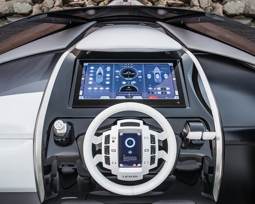 www.Tinuku.com Lexus V8 Sport Yacht Concept to bring tradition of luxury lifestyle brand into maritime premium segment