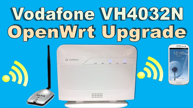Vodafone VH4032N OpenWrt upgrade back original