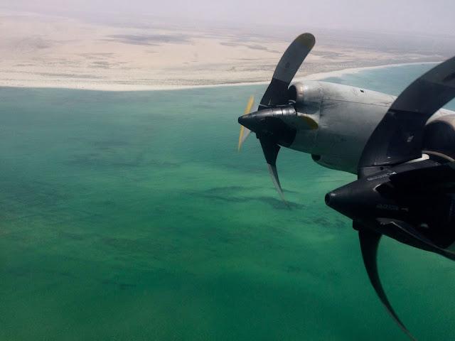 Maniobra de parada de un motor en vuelo del P-3 Orión en la Operación Atalanta
