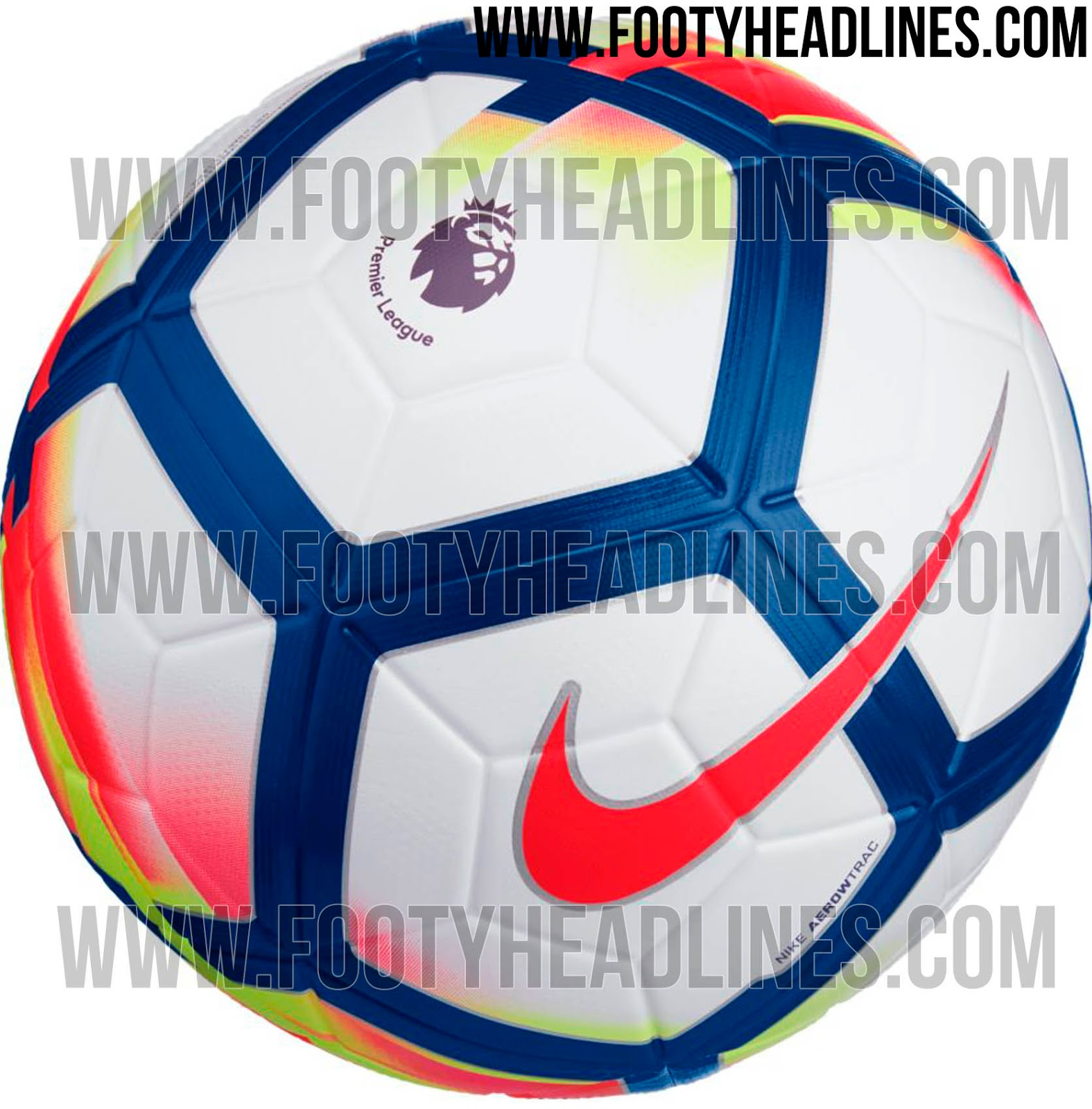Nike 2017-18 Premier League Ball Leaked