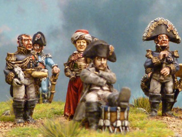Napoléon et son Etat- Major - Figurines Wargames Foundry 5