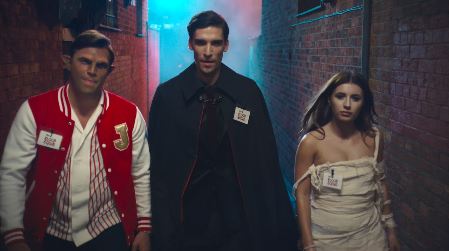 Love Island Stars get their teeth into Halloween Campaign for NHS