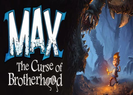 غلاف max the curse of brotherhood