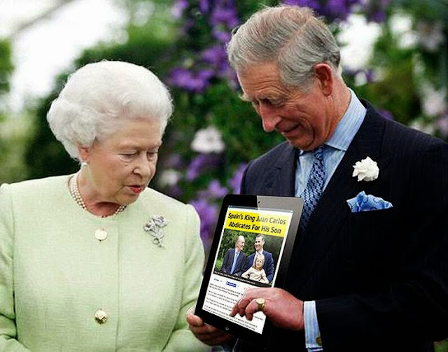 Funny Prince Charles hints to Queen Elizabeth joke picture