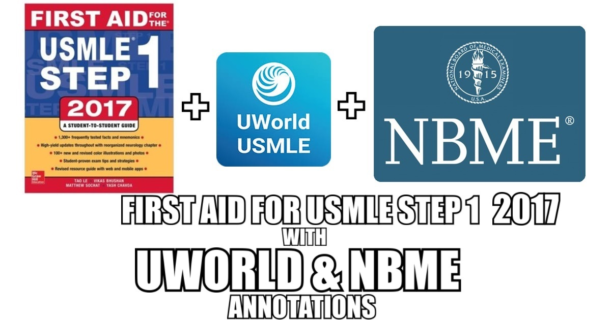 First Aid 2017 Uworld Notes Medical Materials Pdf Free Download