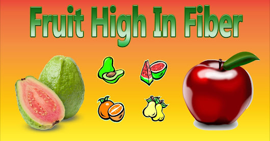 What Fruits High In Fiber