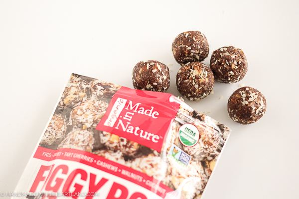 Cherry Figgy Pops energy balls by made in nature