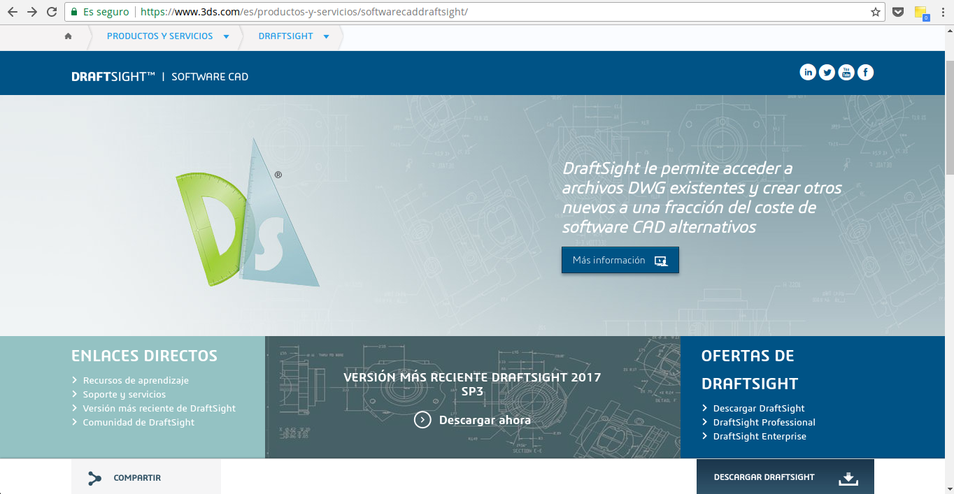 descargar draftsight gratuito