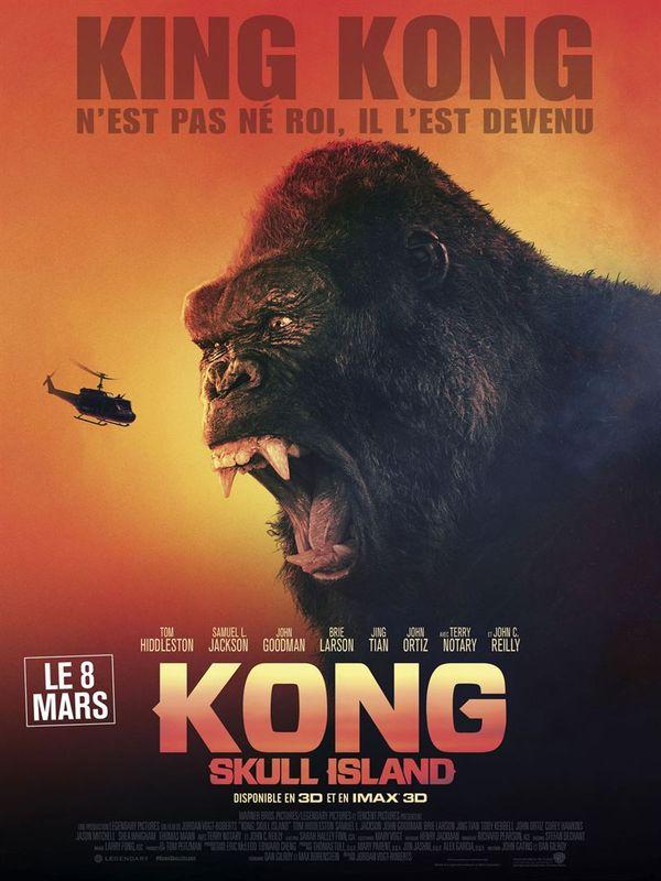 [affiche] Kong : Skull Island