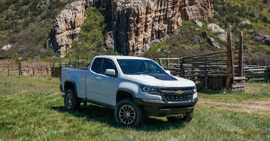 Offroading in Paradise: The 2017 Chevrolet Colorado ZR2 Struts Its Stuff in Gateway Canyons, Colorado