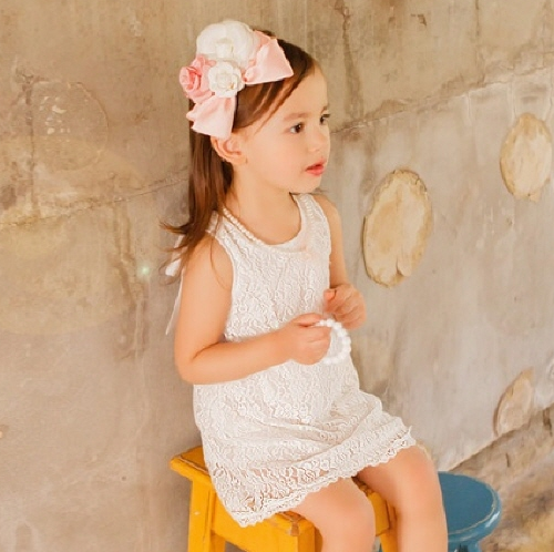 Baby Sleeveless Ribbon Dress
