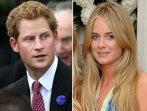 The British press: Prince Harry and Cressida Bonas married next year