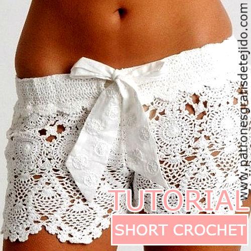 como-tejer-short-crochet