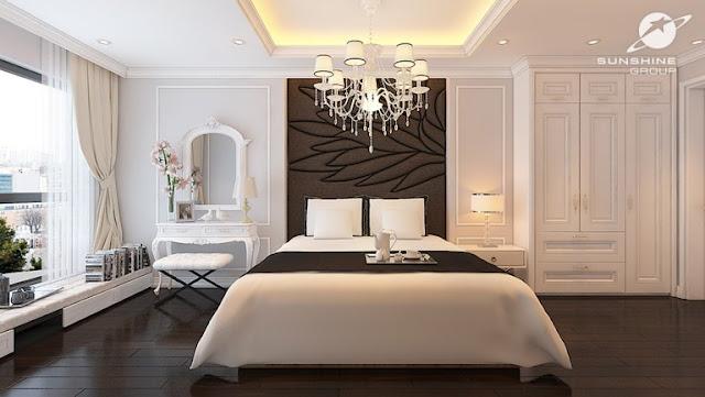 Thiết kế phòng ngủ căn hộ Sunshine Garden