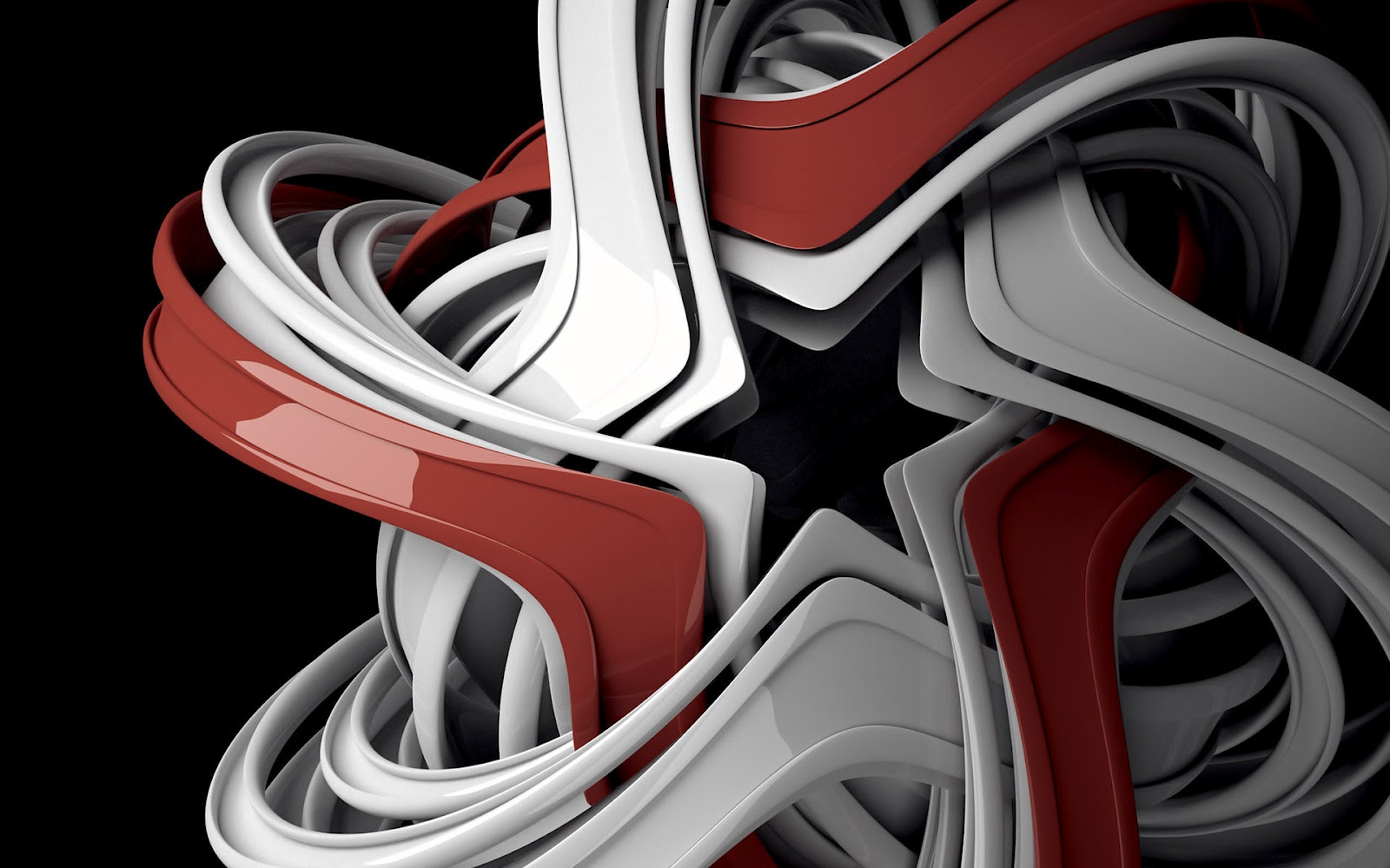 3d abstract achtergronden hd wallpapers for Black and silver 3d wallpaper
