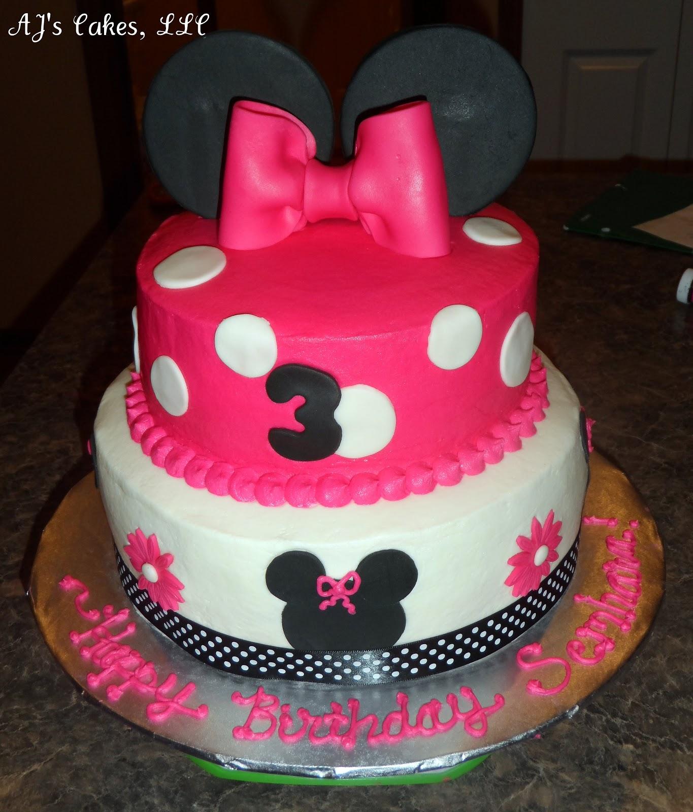 Aj S Cakes Minnie Mouse Cake