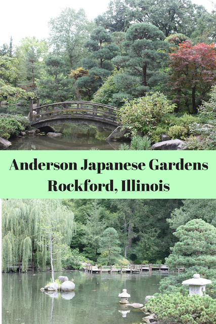 Meandering through Anderson Japanese Gardens in Rockford, Illinois