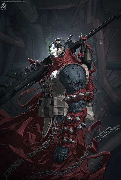 Spawn Artwork Comic Art