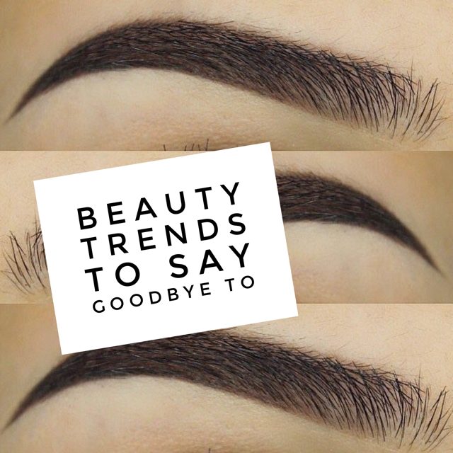 3 Makeup Trends to Toss in the Trash