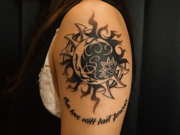 tatuagem lua