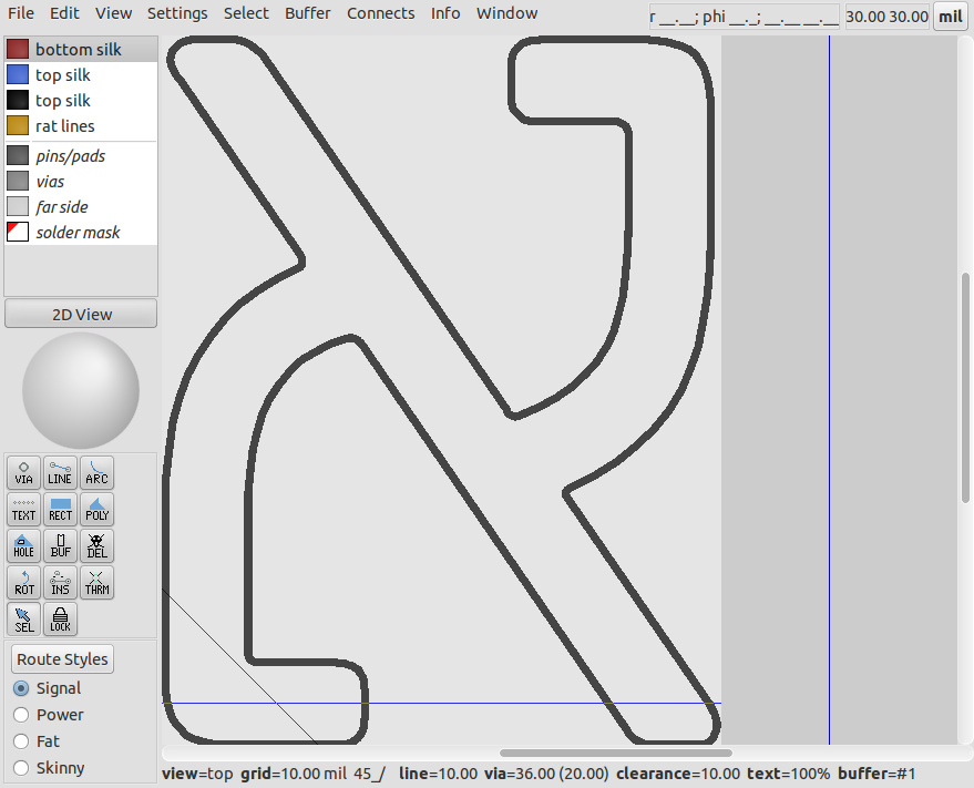 blog de VK5HSE: Outline font to centreline defined font and