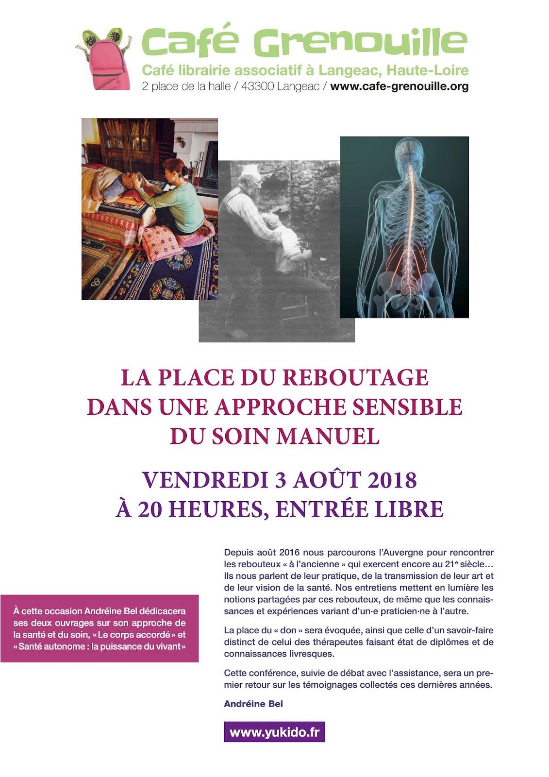 Cafe Grenouille Cafe Librairie Associatif A Langeac Haute Loire 2018