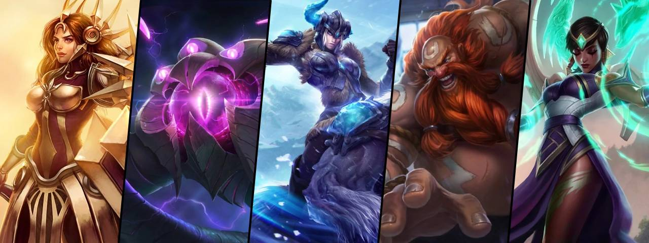 72eec5c25 Five champions are on sale this week for 50% off their RP Price!