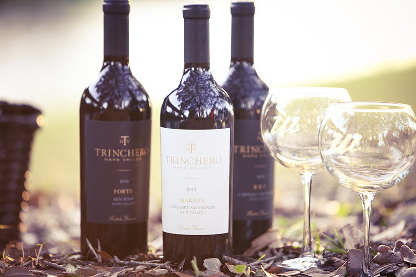 3 Bottles of Trinchero Wine