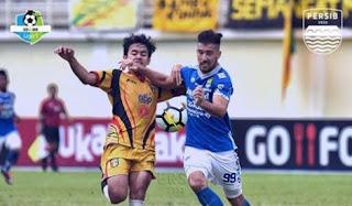Hasil Mitra Kukar vs Persib Bandung - Liga 1 Jumat 10 Agustus 2018