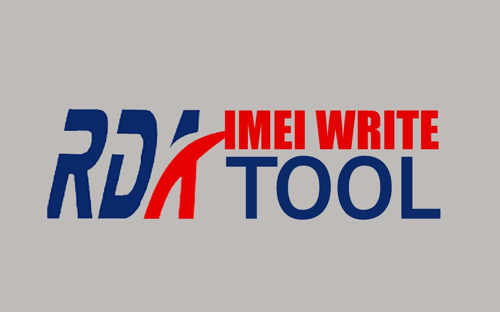 RDA IMEI Write Tool
