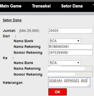 Cara Melakukan Deposit Di Situs Judi Poker