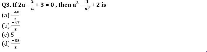 Algebra Questions for SSC CGL TIER-2 , SSC Stenographer & IB (ACIO) 2017_100.1
