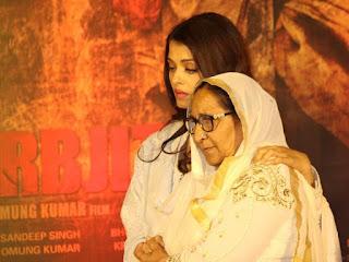 Aishwarya Rai Bersama Dengan Dalbir Kaur Yang Sebenar, Dalbir Kaur Kakak Sarbjit Singh,