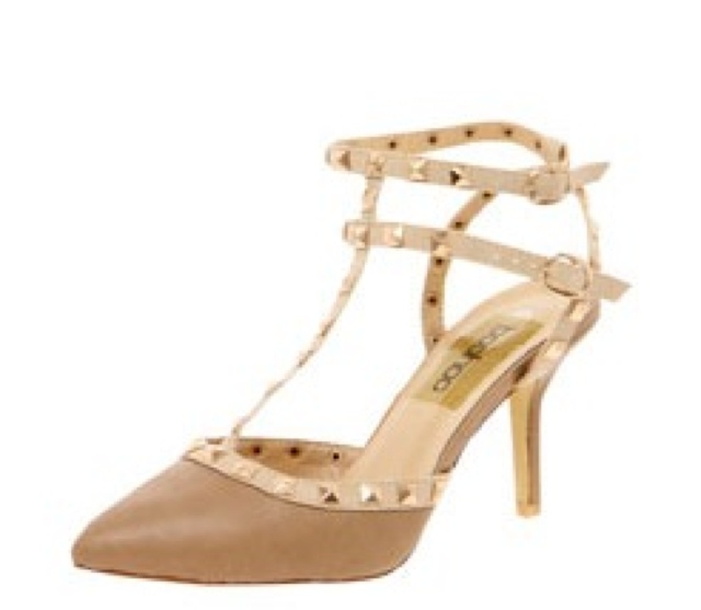 bf9281556c Valentino Rockstud Leather Slingbacks Look4Less | High Street Couture