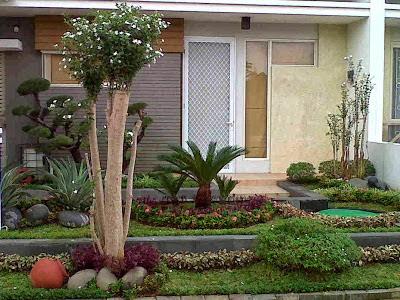 Jasa tukang taman lamongan desain konsep taman minimalis